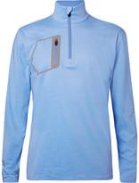 RLX Ralph Lauren Tech-jersey Half-zip Golf Top - Blue