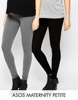Asos PETITE Full Length Legging 2 Pack