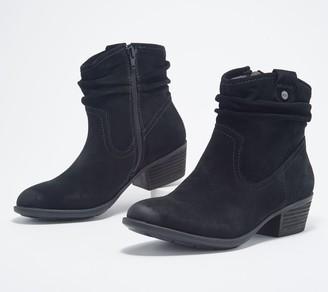 Earth Leather Ankle Boots - Peak Pioneer
