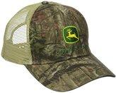 John Deere Men's Mossy Oak Mesh Back Cap