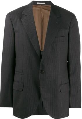 Brunello Cucinelli Striped Pattern Blazer