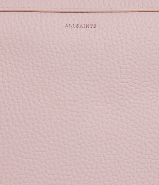 AllSaints Captain Lea Leather Square Crossbody Bag