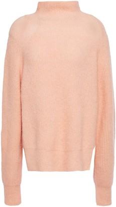 By Malene Birger Brushed-knit Turtleneck Sweater