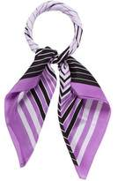 Herve Leger Square Silk Scarf