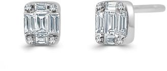 Sabrina Designs 14K 0.26 Ct. Tw. Diamond Baguette Earrings