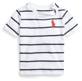 Polo Ralph Lauren Baby Boy Cotton Jersey Crewneck Tee