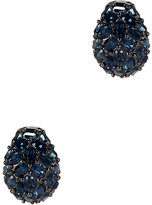 Kenneth Jay Lane Crystal Pavé Round Earrings