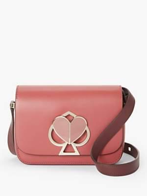 Kate Spade Nicola Leather Twistlock Small Shoulder Bag