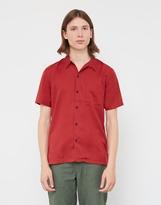 Nudie Jeans Brandon NJCO Cod Shirt Red