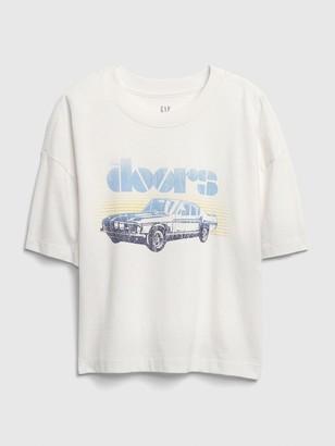Gap Teen Boxy Graphic T-Shirt