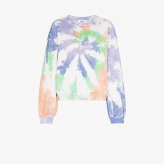 Danielle Guizio Tie-Dye Print Sweatshirt