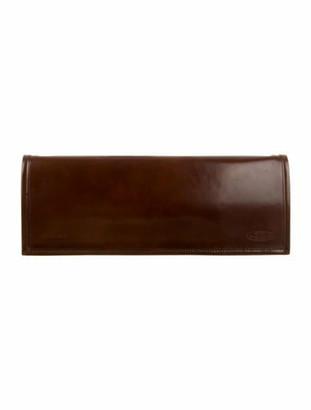 Vetements x Eastpak 2017 Leather Long Clutch Brown