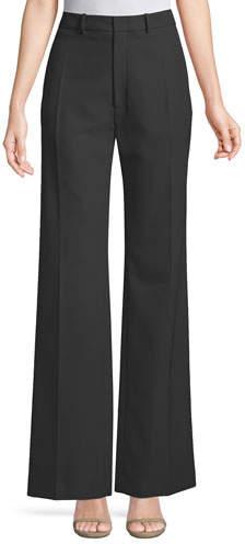 Joseph Ferguson Fluid Wool Wide-Leg Pants
