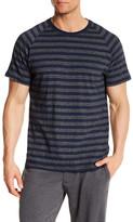 Majestic Short Sleeve Raglan Jersey Stripe Tee