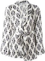 Forte Forte belted silk blazer - women - Silk - II