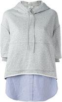 3.1 Phillip Lim layered hoodie
