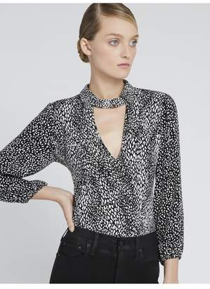 Alice + Olivia Willa Blouson Sleeve Top