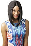 Born Free Magic Lace Curved Part 159 Synthetic Full Wig (1b)