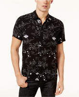GUESS Men's Space-Print Shirt