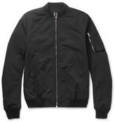 Rick Owens - Cotton-blend Bomber Jacket