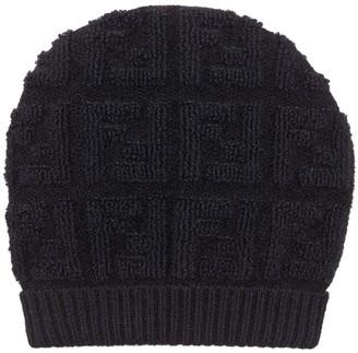 Fendi Monogram Knitted Hat
