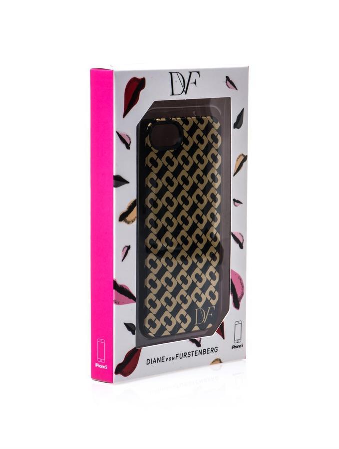 Diane von Furstenberg Chain link-print iPhone5® case