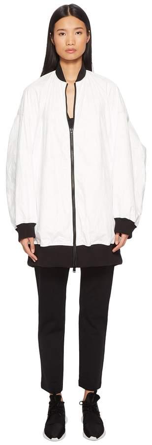 Yohji Yamamoto Reversible Bomber Women's Coat