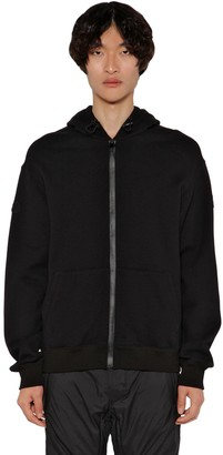 MONCLER GENIUS Alyx Zip Up Cotton Sweatshirt Hoodie