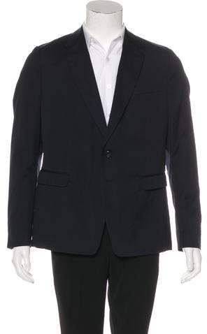 Dries Van Noten Deconstructed Two-Button Blazer