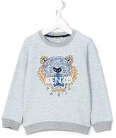 Kenzo Tiger sweatshirt - kids - Cotton/Polyester - 10 yrs