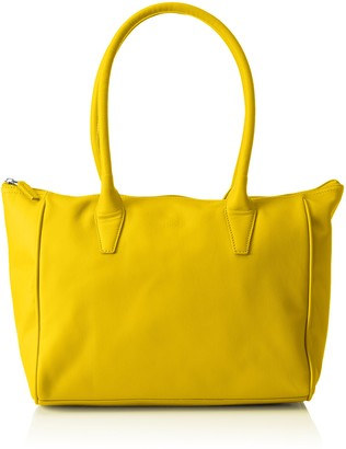 Bree Women 500330093 Hobos and Shoulder Bag Yellow Size: 42x14x26 cm