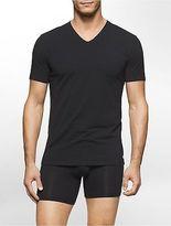 Calvin Klein Mens Modern Cotton Stretch 2 Pack V-Neck T-Shirt Underwear