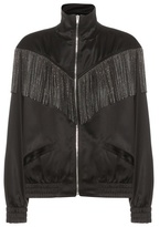 Saint Laurent Fringed Bomber Jacket
