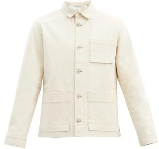 Folk Plinth Cotton-canvas Jacket - Cream