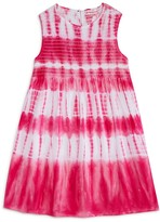 Design History Girls' Sleeveless Tie Dye Dress - Sizes 2-6X