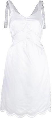 MM6 MAISON MARGIELA Padded Bustier Dress