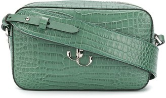 Jimmy Choo Varenne Camera crocodile-effect crossbody bag