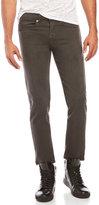 Crosshatch Five-Pocket Slim Fit Jeans