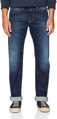 Pepe Jeans Men's Kingston Zip Straight Jeans Blue (Denim) 34/32