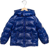 Moncler Boys' Hooded Down Jacket