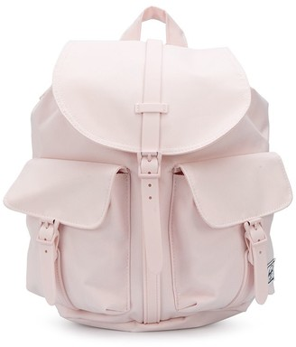 Herschel Drawstring Tonal Backpack With Buckle Fastening