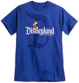 Disney Mickey Mouse with Disneyland Logo Tee for Adults - Blue