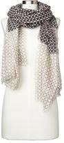 Gap Merino wool blend print scarf