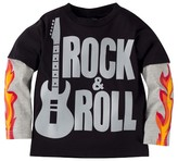 Gerber Graduates® Toddler Boys' Rock & Roll Long Sleeve Shirt - Black