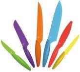 Bed Bath & Beyond Gela 6-Piece Nonstick Coated Multicolored Knife Set