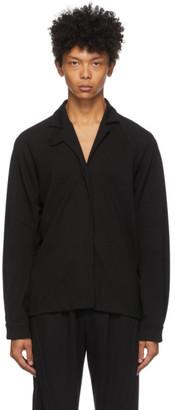 Vejas Black Jersey Batwing Shirt