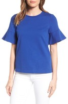 Draper James Women's Ruffle Sleeve Tee