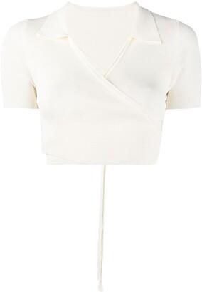 Jacquemus Tie-Reverse Shirt