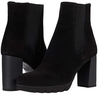 La Canadienne Margaret (Black Suede) Women's Boots