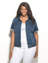 Short Sleeve Denim Jacket For Women - ShopStyle